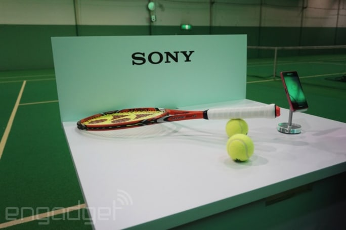 Sony Smart Tennis Sensor to analyze games in North America and the UK