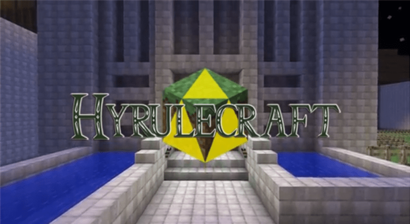 Hyrulecraft: Ocarina of Time reproduced in Minecraft