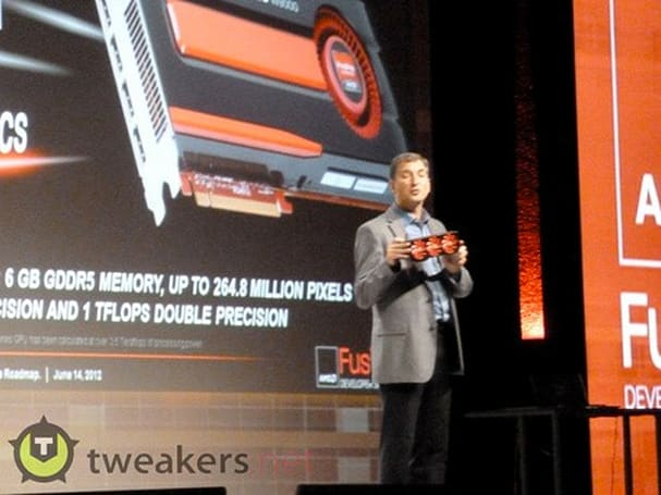 AMD previews FirePro W9000 graphics, possibly throws in dual-chip Radeon HD 7990 for good measure