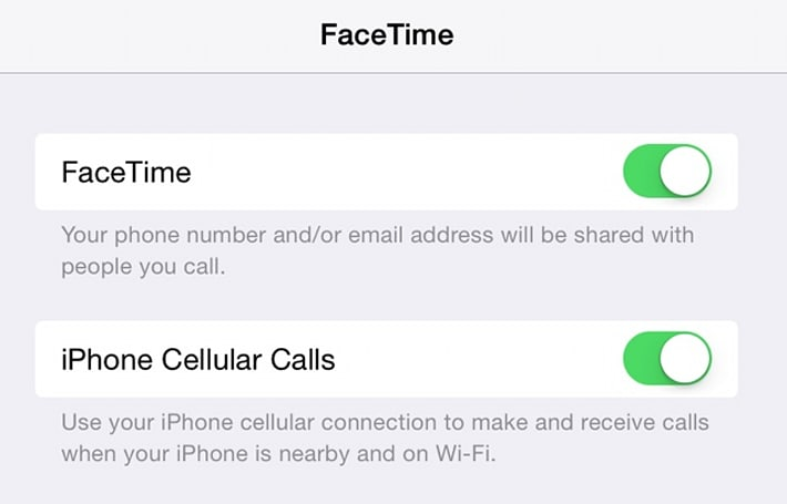 How to disable taking iPhone calls on your iPad