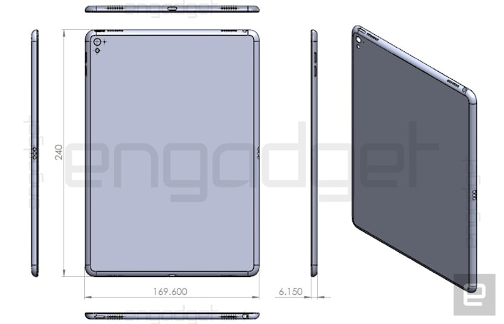 iPad Air 3 drawing hints at a smaller iPad Pro
