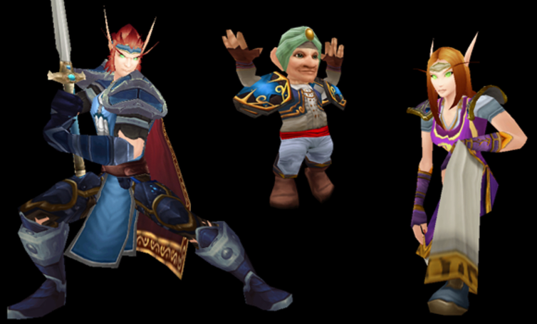 Transmog Inspirations: WoW meets Nintendo, part 2
