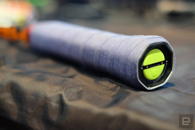 Zepp wants rackets and bats to pack integrated sensors