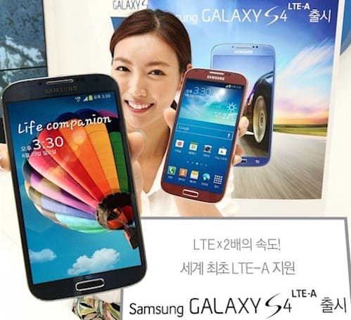 SK Telecom launches the world's first LTE-Advanced network, and the Galaxy S4 LTE-A
