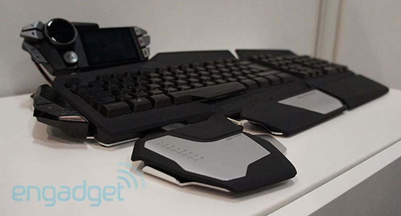 Mad Catz S.T.R.I.K.E. 7 gaming keyboard announced at Gamescom (hands-on)