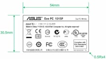 ASUS Eee PC 1015P netbook hits the FCC