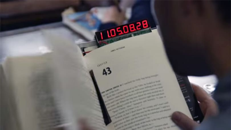 Self-destructing book gives you 24 hours to finish reading