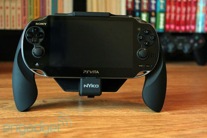 Nyko Power Grip for PlayStation Vita review: a $25 accessory that promises to double your battery life