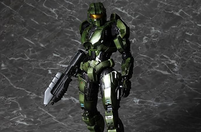 Square working on some slick, pricey new Halo figures