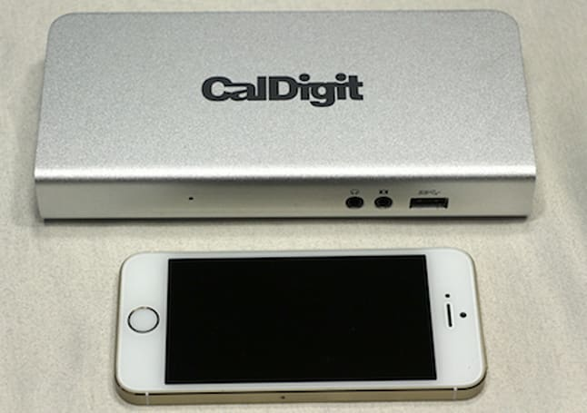 CalDigit Thunderbolt Station expands your MacBook options