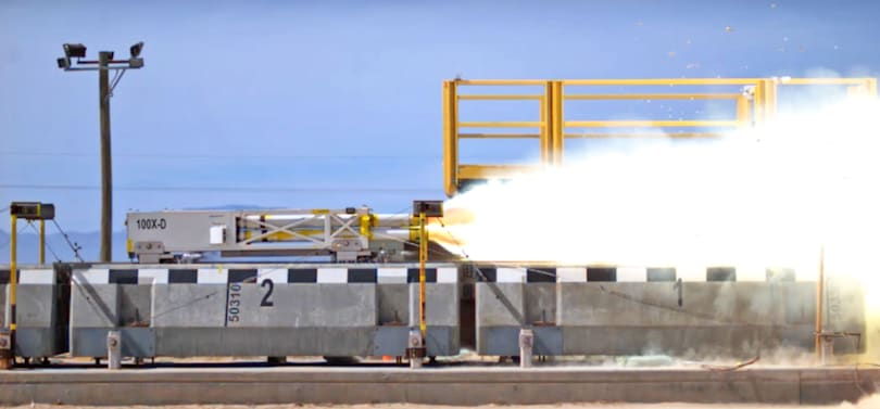 US Air Force sets a new maglev speed record