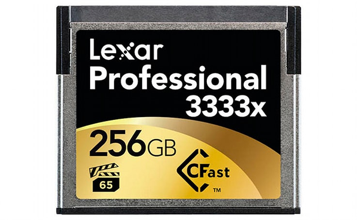 Lexar's new CFast 2.0 cards boast SSD speeds, but no cameras support them yet