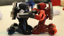 Battroborg updates Rock'em Sock'em Robots for the Wii generation, we go hands-on