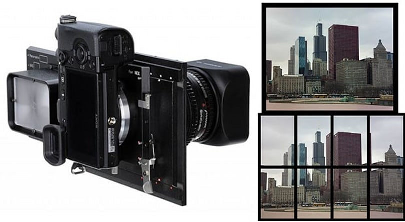 Fotodiox brings 140-megapixel  images to your NEX, medium format lens not included