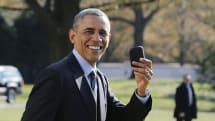 川普就任美國總統後將要放棄其 Android 手機