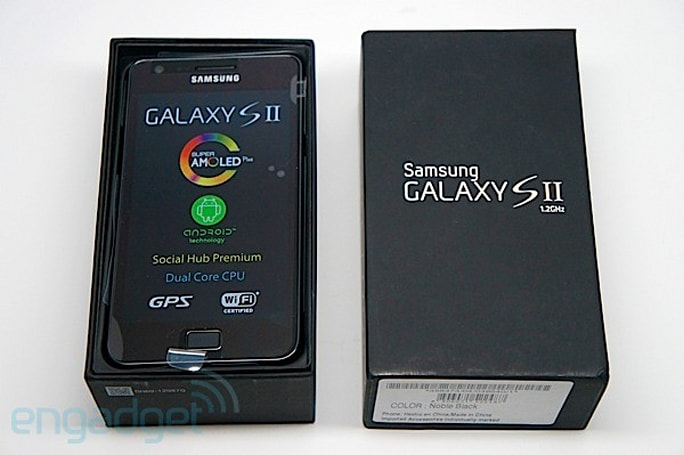 Engadget's Holiday Blues-buster 2011: win a Samsung Galaxy S II, courtesy of Broadcom!