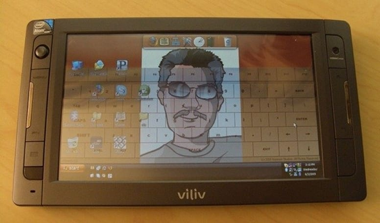 Video: Viliv X70 MID gets some use, makes quite an impression
