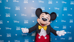 Blind Man Magically Meets Mickey Mouse