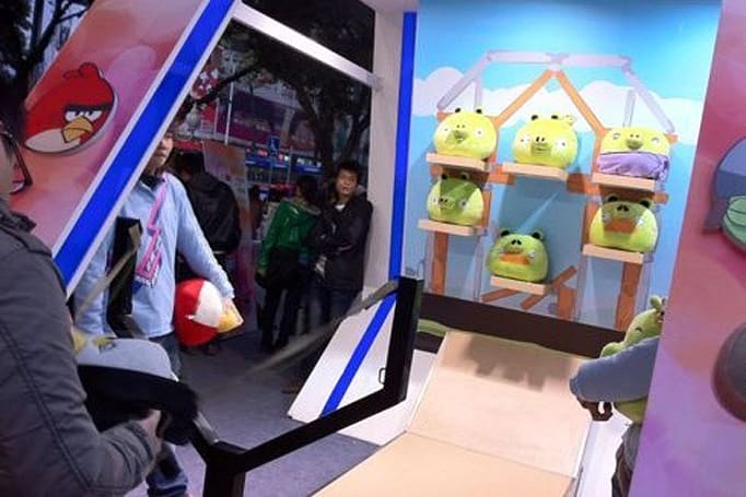 Angry Birds gets real... corporeal (in China, at least)