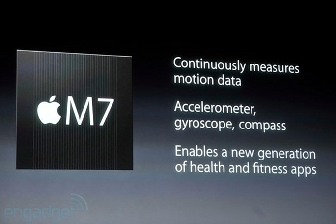 iPhone 5s packs M7 motion-sensing chip, CoreMotion API for more accurate tracking