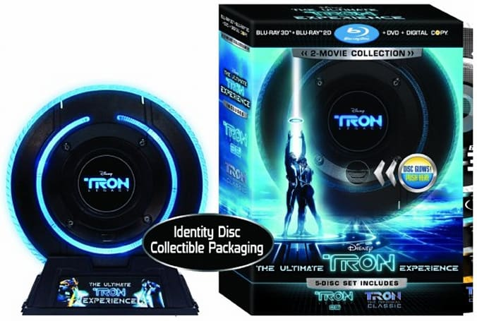 Amazon lists three Tron: Legacy Blu-ray 3D packs for sale