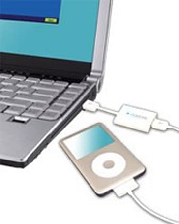 Clickfree Transformer for iPod / iPhone makes auto backups, music retrieval painless
