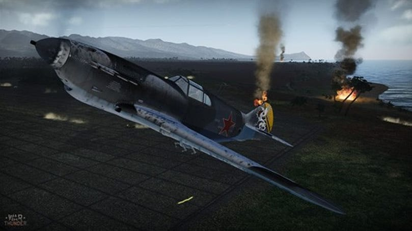 War Thunder video highlights planes and mods of update 1.3