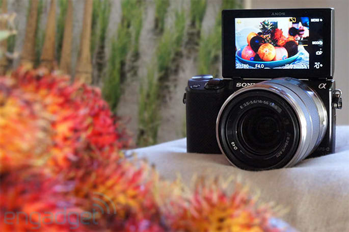 Engadget Giveaway: win a Sony NEX-5R, courtesy of Movile!