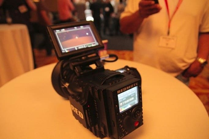 Working RED EPIC camera demonstrated at NAB 2010