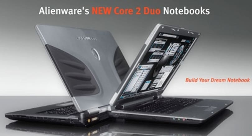 Alienware adds Core 2 Duo to Area-51, Sentia laptops
