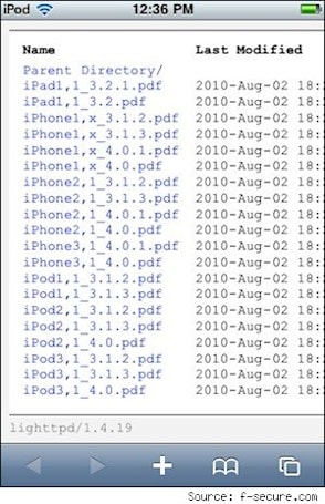 Jailbreakme site utilizes PDF exploit in iOS