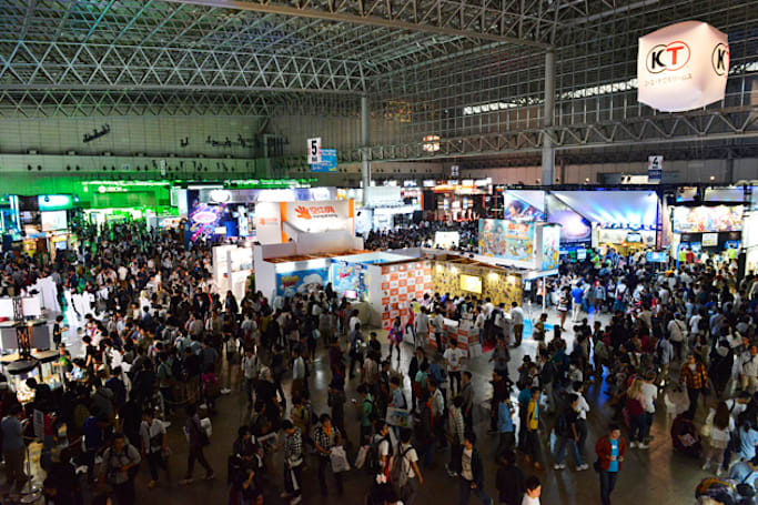 The fun and weird moments of Tokyo Game Show 2014