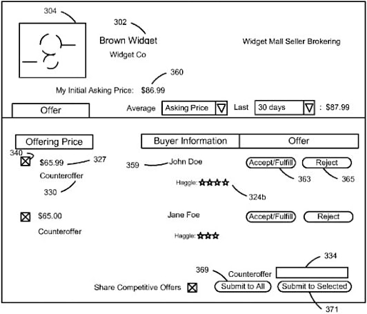 Amazon patents online haggling system that keeps buyers, sellers on the up and up