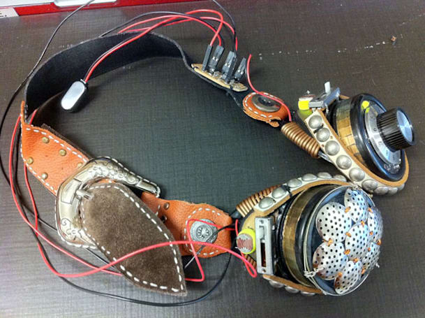 DIY theremin goggles marry the art of noise with steampunk style (video)