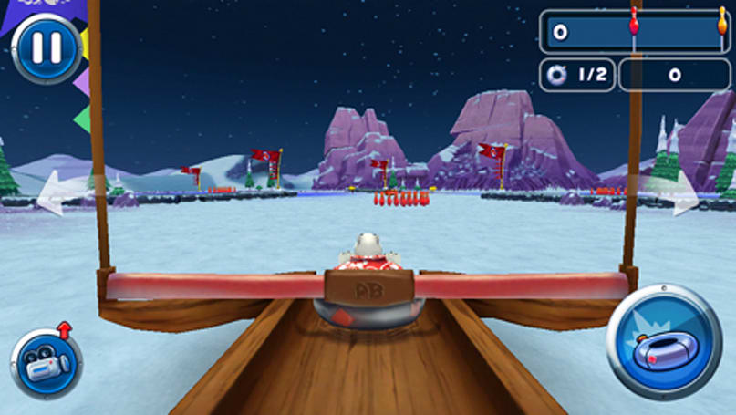 Popular pin-toppler game Polar Bowler lands on iOS