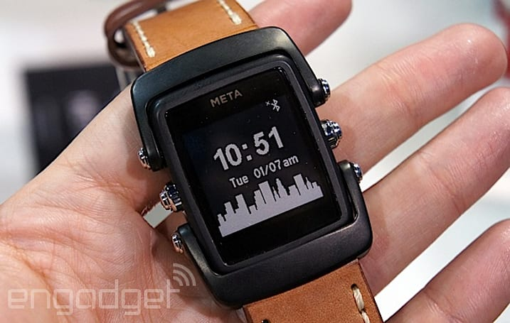 This is the next generation of Meta's smart watch