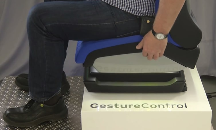 Wave goodbye to manual car seat controls with gesture tech