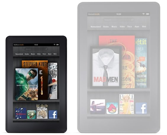 Amazon's second-gen, possibly larger Kindle Fire to set off at end of Q2?
