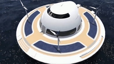 This UFO Is Actually A Floating Home