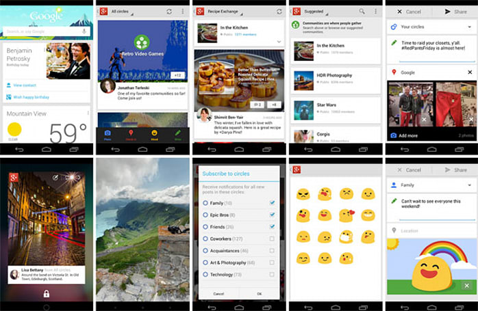 Google+ update offers seasonal cheer through 18 new features: improves mobile apps, hangouts and events (updated)