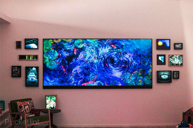Visualized Microsoft S Homegrown 120 Inch 4k Television