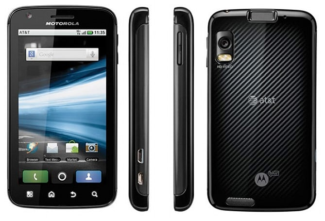 Motorola's Atrix 4G coming to AT&T on March 6th for $200, bundled with Laptop Dock for $500