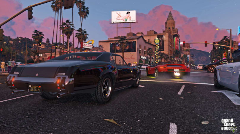 'GTA V' video editor is coming to the PS4 and Xbox One next month