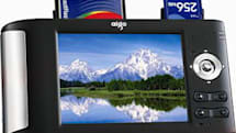 Aigo's P706 photo and video viewer for photographers