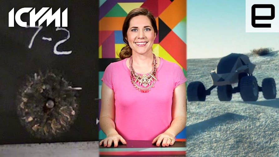 ICYMI: Bullet-Stopping Foam, All-Terrain Military Car & More