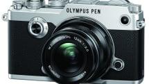 オリンパス、銀塩カメラ風フォルムのミラーレス機『OLYMPUS PEN-F』発表。EVF内蔵、50Mハイレゾ写真も撮影可