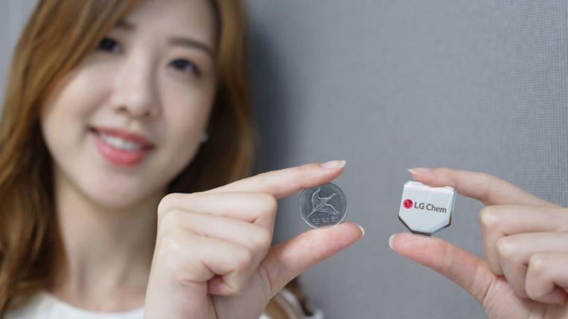 LG's hexagonal battery promises longer-lasting smartwatches
