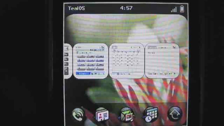 TealOS -- a WebOS Lookalike -- in Action
