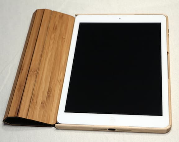 Grove Wood Smart Case for iPad Air: 100% natural, less filling