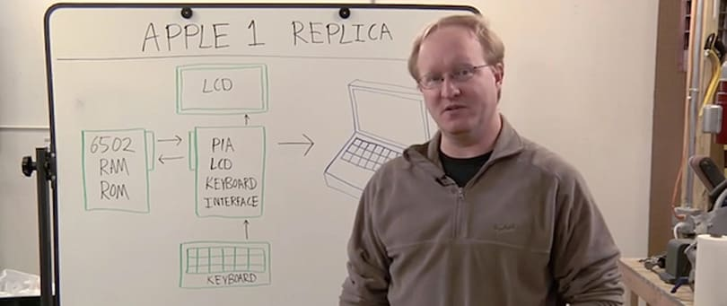 Ben Heck builds an Apple 1 from scratch, and you can too